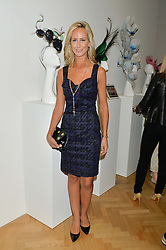 LADY VICTORIA HERVEY at a private view and auction of millinery organised by author, philanthropist and hat collector Eva Lanska in aid of Women for Women International held at Pace, Burlington Gardens, London on 10th June 2015.
