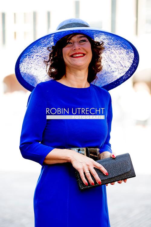 DEN HAAG - VVD-Kamerlid Anouchka van Miltenburg bij de Ridderzaal op Prinsjesdag. ROBIN UTRECHT