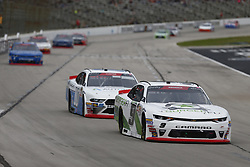 November 3, 2018 - Ft. Worth, Texas, United States of America - Tyler Reddick (9) battles for position during the O'Reilly Auto Parts Challenge at Texas Motor Speedway in Ft. Worth, Texas. (Credit Image: © Justin R. Noe Asp Inc/ASP via ZUMA Wire)