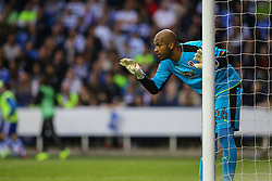 Ali Al-Habsi of Reading signals to his team mates - Mandatory by-line: Jason Brown/JMP - 16/05/2017 - FOOTBALL - Madejski Stadium - Reading, England - Reading v Fulham - Sky Bet Championship Play-off Semi-Final 2nd Leg