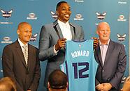 Charlotte Hornets introduce Dwight Howard, 26 June 2017