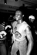 Dancer getting his fast wind on at Shades Disco, Manor House, London 1978