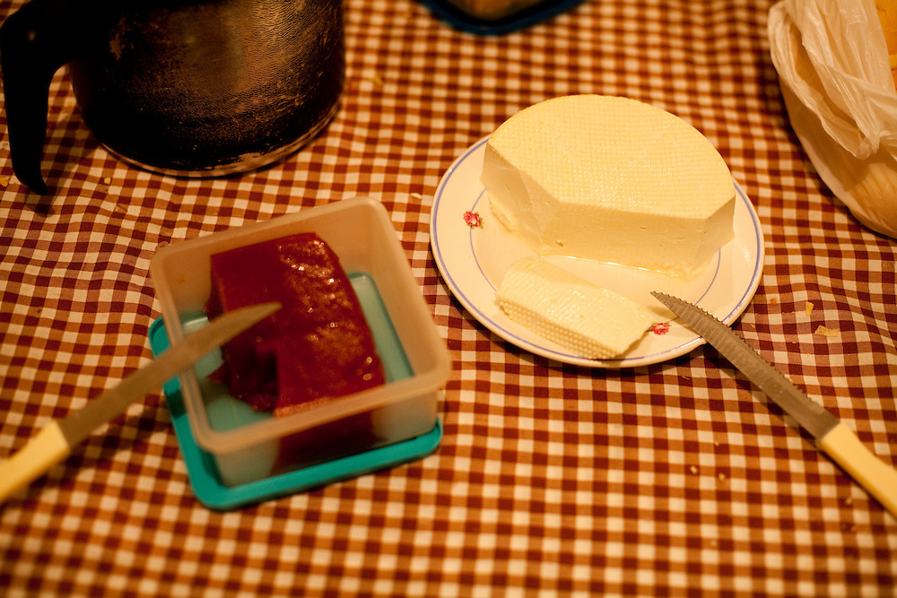 Itapeva_MG, Brasil...Detalhe de queijo e goiabada de Itapeva...Detail of cheese and guava candy of Itapeva. ..Foto: LEO DRUMOND / NITRO.....
