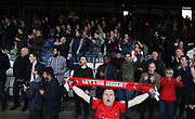Leyton Orient fans after the EFL Sky Bet League 2 match between Luton Town and Leyton Orient at Kenilworth Road, Luton, England on 14 April 2017. Photo by Harry Hubbard.