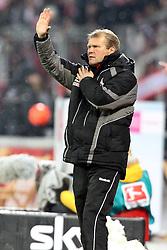 05.12.2010,  BayArena, Leverkusen, GER, 1. FBL, Bayer Leverkusen vs 1. FC Koeln, 15. Spieltag, im Bild: Frank Schaefer (Trainer Koeln)  EXPA Pictures © 2010, PhotoCredit: EXPA/ nph/  Mueller       ****** out ouf GER ******