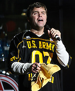 Country Music group Lonestar performs for troops and athletes, USA All American Bowl, 6 Jan 07