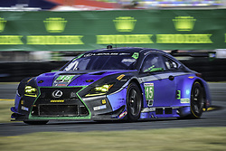 January 28, 2018 - Daytona, FLORIDE, ETATS UNIS - 15 3GT RACING (USA) LEXUS RC F GT3 LEXUS GTD JACK HAWKSWORTH (GBR) DAVID HEINEMEIER HANSSON (DNK) SCOTT PRUETT (USA) DOMINIK FARNBACHER  (Credit Image: © Panoramic via ZUMA Press)