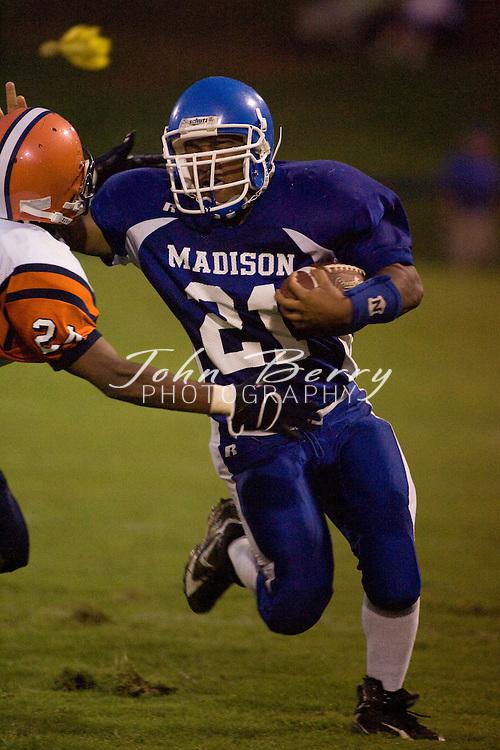 MCHS Varsity Football.vs Orange.August 24, 2007