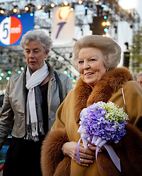 59604337 .Dutch Princess Beatrix (R) arrives to attend the annual concert marking the Liberation Day, Amsterdam, Netherlands, May 05, 2013. Photo by: i-Images.UK ONLY