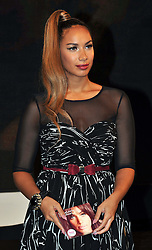 Leona Lewis signs copies of her album 'Glassheart' at HMV Oxford Street London, England, October 15, 2012. Photo by Nils Jorgensen / i-Images..