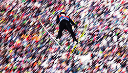 28.02.2019, Seefeld, AUT, FIS Weltmeisterschaften Ski Nordisch, Seefeld 2019, Nordische Kombination, Skisprung, im Bild Akito Watabe (JPN) // Akito Watabe of Japan during the Ski Jumping competition for Nordic Combined of FIS Nordic Ski World Championships 2019. Seefeld, Austria on 2019/02/28. EXPA Pictures © 2019, PhotoCredit: EXPA/ JFK