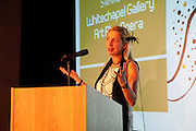 IWONA BLAZWICK, Swarovski Whitechapel Gallery Art Plus Opera,  An evening of art and opera raising funds for the Whitechapel Education programme. Whitechapel Gallery. 77-82 Whitechapel High St. London E1 3BQ. 15 March 2012