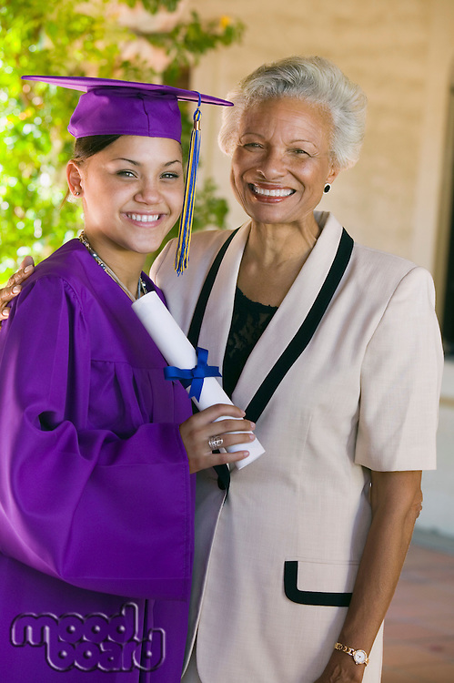 Graduate and Proud Grandmother