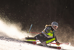 Hanna Aronsson Elfman (SWE)during the Ladies' Slalom at 56th Golden Fox event at Audi FIS Ski World Cup 2019/20, on February 16, 2020 in Podkoren, Kranjska Gora, Slovenia. Photo by Matic Ritonja / Sportida
