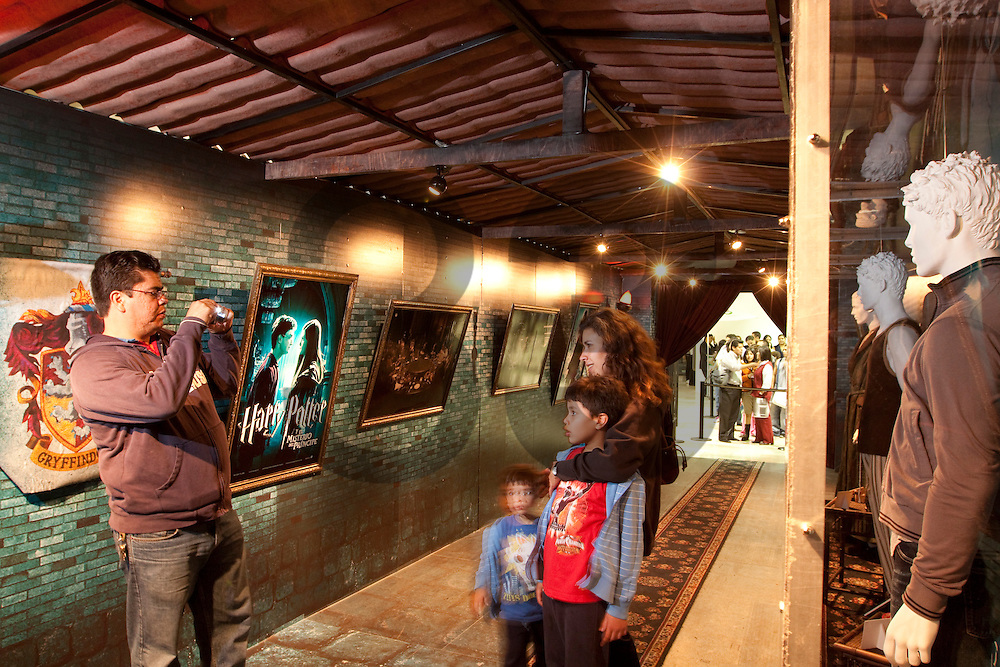 Harry Potter Museum, publicity for movie premiere