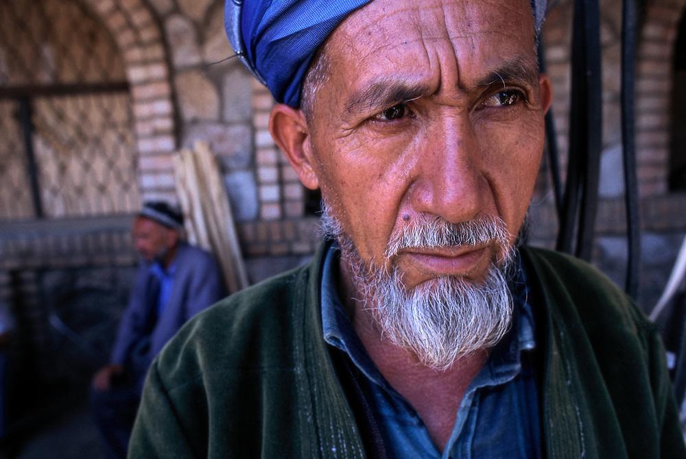 ca. 1990-2000, Samarkand, Uzbekistan --- Muslim Man --- Image by © Jeremy Horner/Corbis