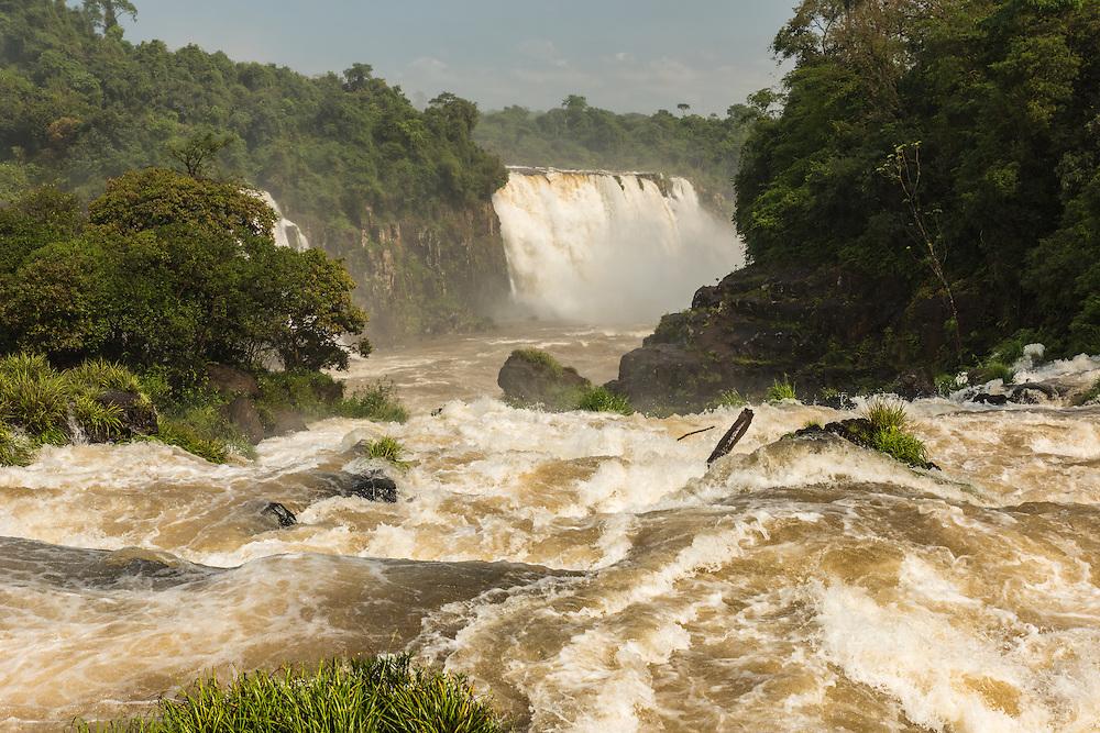 Iguazu falls, Foz do Iguazu, Brazil.