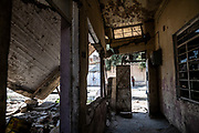 9 August 2018 – Mosul – Iraq – A damaged home in al-Islah al Zirahee neighborhood of West Mosul. <br /> <br /> This home is amongst the houses due to be rehabilitated with the support of UNDP's Funding Facility for Stabilization (FFS). <br /> <br /> © UNDP Iraq / Claire Thomas