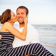 Family beach portrait session at Isle of Palms near Charleston South Carolina