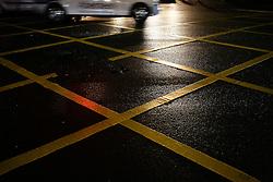 UK ENGLAND LONDON 26MAR14 - Yellow box junction at Edgware Road, Paddington, central London.<br /> <br /> jre/Photo by Jiri Rezac<br /> <br /> © Jiri Rezac 2014