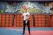 20171124 Mechelen - Royal Gym - Nidal Bichiri is Belgisch Kampioen Kickboksen K1 - B