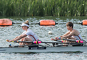 Caversham, Nr Reading, Berkshire.<br /> <br /> GBR LW2X. Boe Challotte TAYLOR and Kat COPELAND, Olympic Rowing Team Announcement morning training before the Press conference at the RRM. Henley.<br /> <br /> Thursday  09.06.2016<br /> <br /> [Mandatory Credit: Peter SPURRIER/Intersport Images]