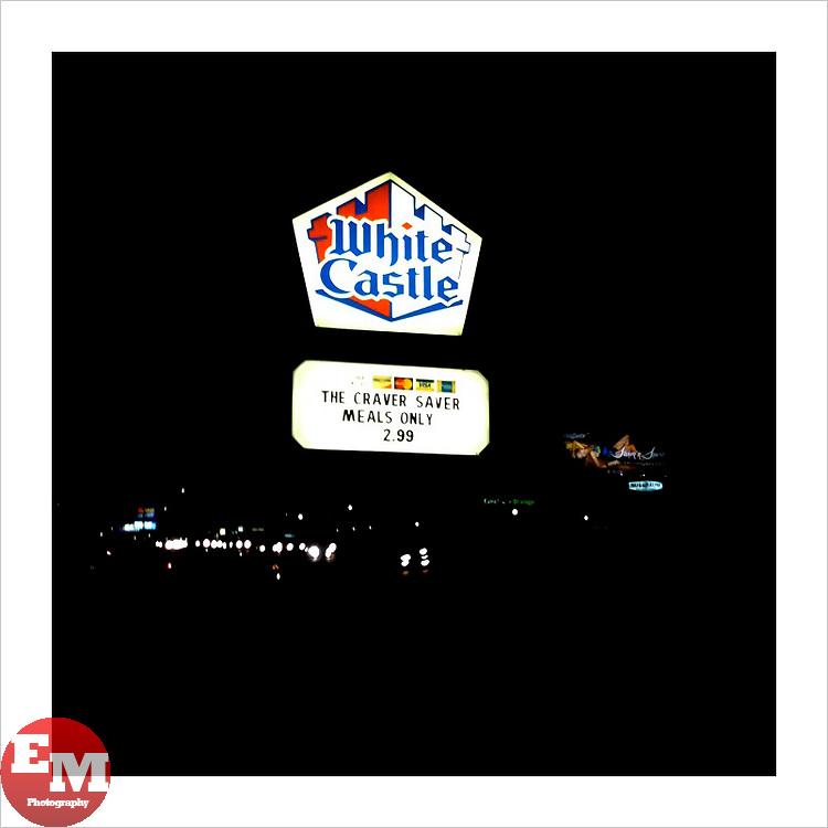 White Castle Sign on Rt. 17S NJ.