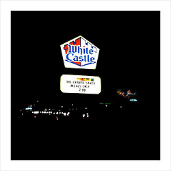 White Castle Sign on Rt. 17S NJ.