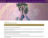 The Goddess Network Homepage featuring art by Elena Ray  http://www.thegoddesscircle.net