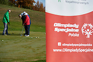 Bydgoszcz, Poland - 2018 October 09: Special Olympics Poland Preparation Camp before the Special Olympics World Games Abu Dhabi 2019 at Zawisza Stadium on October 09, 2018 in Bydgoszcz, Poland.<br /> <br /> Adam Nurkiewicz declares that he has no rights to the image of people at the photographs of his authorship.<br /> <br /> Picture also available in RAW (NEF) or TIFF format on special request.<br /> <br /> Any editorial, commercial or promotional use requires written permission from the author of image.<br /> <br /> Image can be used in the press when the method of use and the signature does not hurt people on the picture.<br /> <br /> Mandatory credit:<br /> Photo by © Adam Nurkiewicz