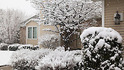 Images captured during a rather unexpected spring snowstorm on April 8, 2016, in the De Pere and Allouez Wisconsin area.