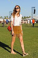 Chiara Ferragni at Coachella 2015 Day 3