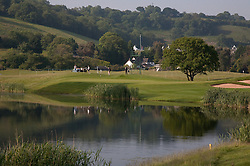 03.06.2010, Celtic Manor Resort and Golf Club, Newport, ENG, The Celtic Manor Wales Open 2010, im Bild A general view of the lake on the third hole. EXPA Pictures © 2010, PhotoCredit: EXPA/ M. Gunn / SPORTIDA PHOTO AGENCY