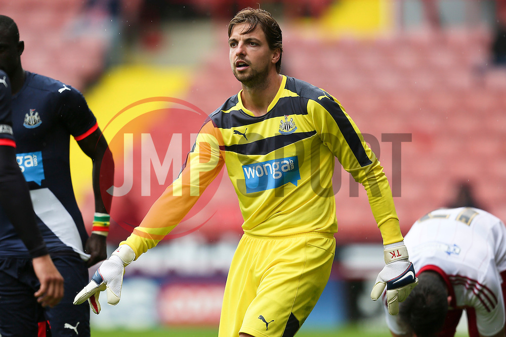 Tim Krul of Newcastle United - Mandatory by-line: Matt McNulty/JMP - 26/07/2015 - SPORT - FOOTBALL - Sheffield,England - Bramall Lane - Sheffield United v Newcastle United - Pre-Season Friendly