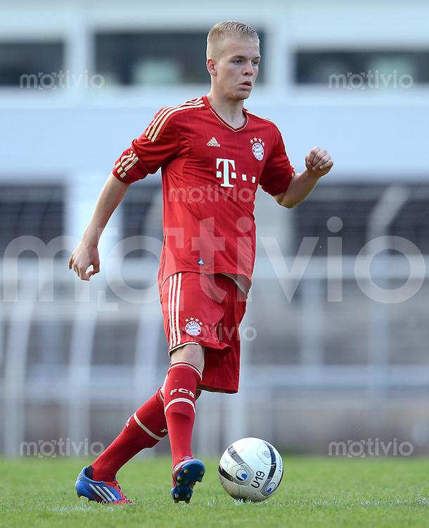 FUSSBALL  U19 A Junioren Bundesliga   SAISON  2011/2012    14. Spieltag   02.05.2012 TSV 1860 Muenchen - FC Bayern Muenchen Daniel Wein (FC Bayern Muenchen)