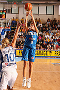 DESCRIZIONE : Chieti Italy Italia Eurobasket Women 2007 Grecia Italia Greece Italy <br /> GIOCATORE : Francesca Modica<br /> SQUADRA : Nazionale Italia Donne Femminile <br /> EVENTO : Eurobasket Women 2007 Campionati Europei Donne 2007<br /> GARA : Grecia Italia Greece Italy <br /> DATA : 25/09/2007 <br /> CATEGORIA : tiro<br /> SPORT : Pallacanestro <br /> AUTORE : Agenzia Ciamillo-Castoria/E.Castoria<br /> Galleria : Eurobasket Women 2007 <br /> Fotonotizia : Chieti Italy Italia Eurobasket Women 2007 Grecia Italia Greece Italy <br /> Predefinita :