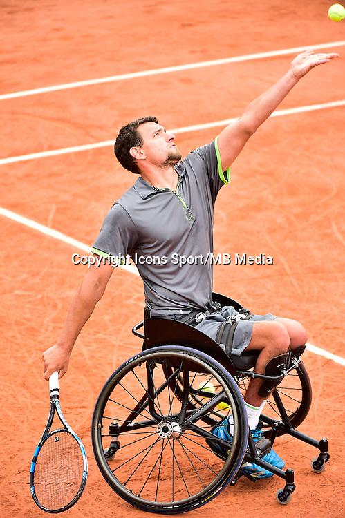 Joachim GERARD - 03.06.2015 - Jour 11 - Roland Garros 2015<br />Photo : Dave Winter / Icon Sport