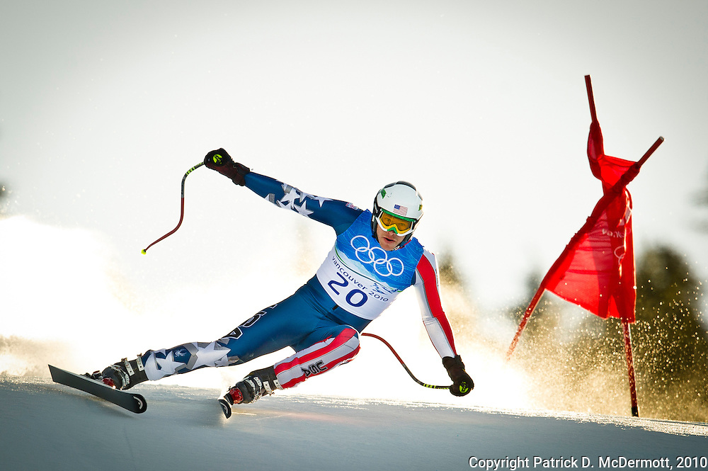 Bode Miller, USA, competes in the Men's Super Combined during the 2010 Vancouver Winter Olympics in Whistler, British Columbia, Sunday, Feb. 21, 2010. Miller won the gold medal with his victory.