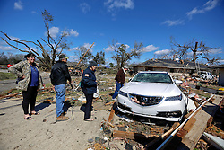 24 February 2016. Schexnaydre St, Convent, Louisiana.<br />