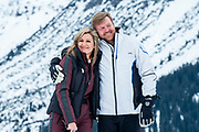 Fotosessie met de koninklijke familie in Lech /// Photoshoot with the Dutch royal family in Lech .<br /> <br /> Koningin Maxima, Koning Willem Alexander  ///// Queen Maxima, King Willem Alexander