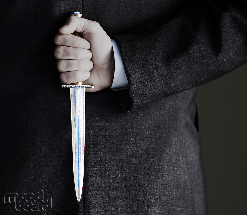 Man Holding Knife