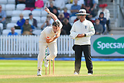 Graham Onions of Lancashire bowling during the Specsavers County Champ Div 1 match between Somerset County Cricket Club and Lancashire County Cricket Club at the Cooper Associates County Ground, Taunton, United Kingdom on 5 September 2018.
