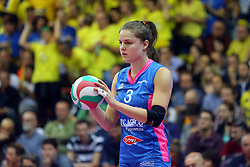 30-04-2016 ITA: Nordmeccanica Piacenza - Imoco Volley Conegliano, Piacenza<br /> Final play-offs, Piacenza brengt de stand terug naar 2-1 / Yvon Belien<br /> <br /> ***NETHERLANDS ONLY***