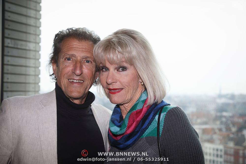 NLD/Amsterdam/20150324 -  boekpresentatie Het Grote Songfestival boek, Saskia & Serge