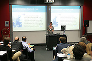 Carolyn McCall, Arts Alliance CEOs Summit. Tanaka Business School. Imperial College, London. 17 April 2007.  -DO NOT ARCHIVE-© Copyright Photograph by Dafydd Jones. 248 Clapham Rd. London SW9 0PZ. Tel 0207 820 0771. www.dafjones.com.