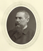 Richard Francis Burton (1821-1890) English orientalist and explorer. Photograph published London c1880. Woodburytype.