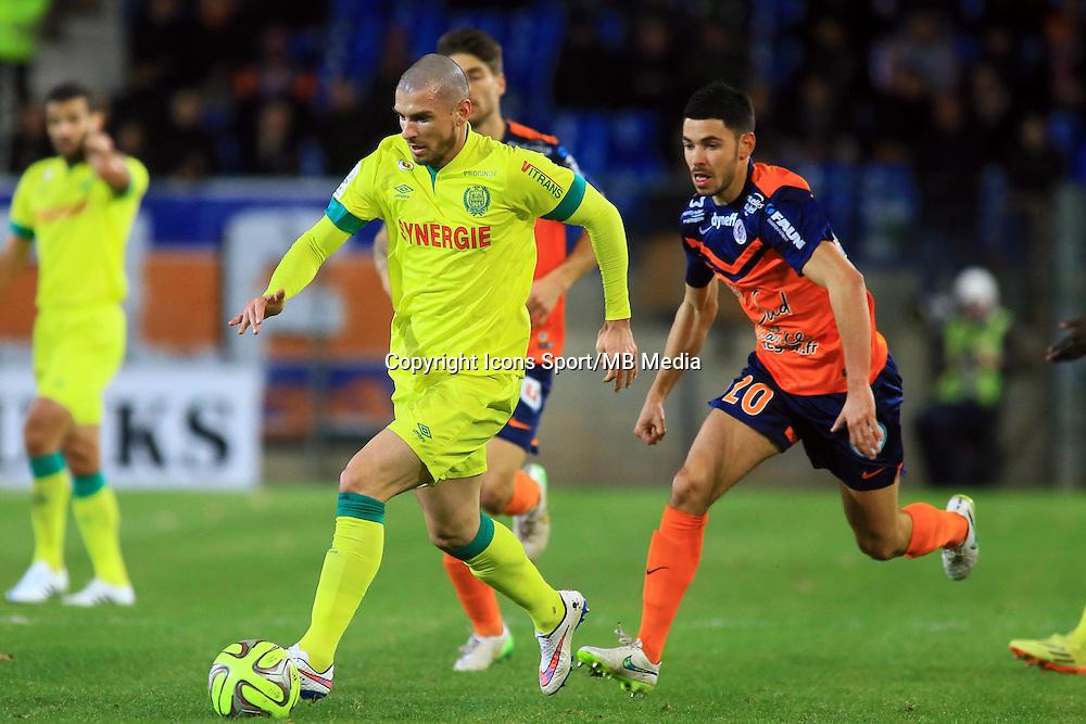 Vincent BESSAT  - 24.01.2015 - Montpellier / Nantes  - 22eme journee de Ligue1<br />Photo : Nicolas Guyonnet / Icon Sport