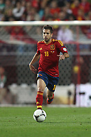 FOOTBALL - FIFA WORLD CUP 2014 - QUALIFYING - SPAIN v FRANCE - 16/10/2012 - PHOTO MANUEL BLONDEAU / AOP PRESS / DPPI - JORDI ALBA