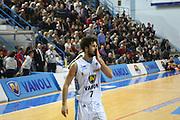 DESCRIZIONE : Cremona Lega A 2014-2015 Vanoli Cremona Consultinvest Pesaro<br /> GIOCATORE : Luca Vitali<br /> SQUADRA : Vanoli Cremona<br /> EVENTO : Campionato Lega A 2014-2015<br /> GARA : Vanoli Cremona Consultinvest Pesaro<br /> DATA : 14/12/2014<br /> CATEGORIA : Ritratto Delusione<br /> SPORT : Pallacanestro<br /> AUTORE : Agenzia Ciamillo-Castoria/F.Zovadelli<br /> GALLERIA : Lega Basket A 2014-2015<br /> FOTONOTIZIA : Cremona Campionato Italiano Lega A 2014-15 Vanoli Cremona Consultinvest Pesaro<br /> PREDEFINITA : <br /> F Zovadelli/Ciamillo