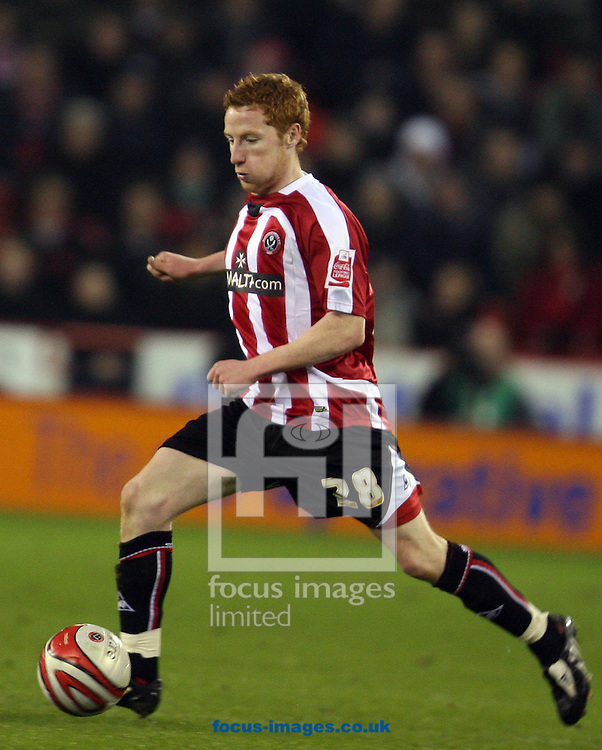 Sheffield - Tuesday January 27th, 2009: Stephen Quinn of Sheffield United during the Coca Cola Championship match at Bramall Lane, Sheffield. (Pic by Darren Walker/Focus Images)